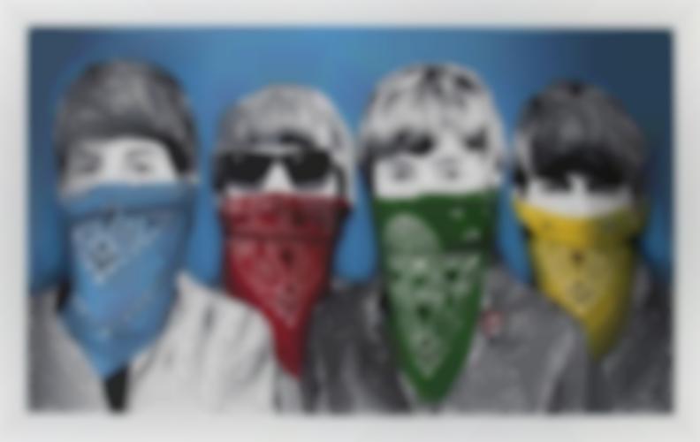 Mr. Brainwash-Bandidos (Blue)-2012