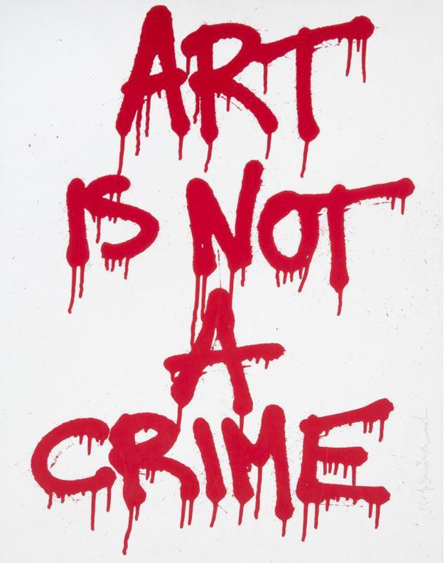 Mr. Brainwash-Art Is Not A Crime-2011