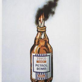 Banksy-Tesco Bomb