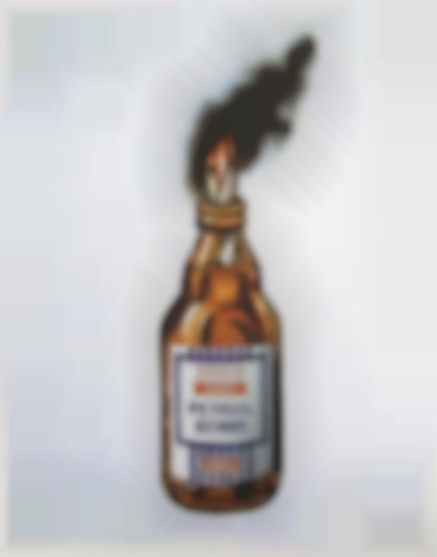Banksy-Tesco Bomb-