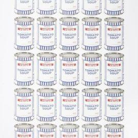 Banksy-Tesco Cream Of Tomato Soup Cans