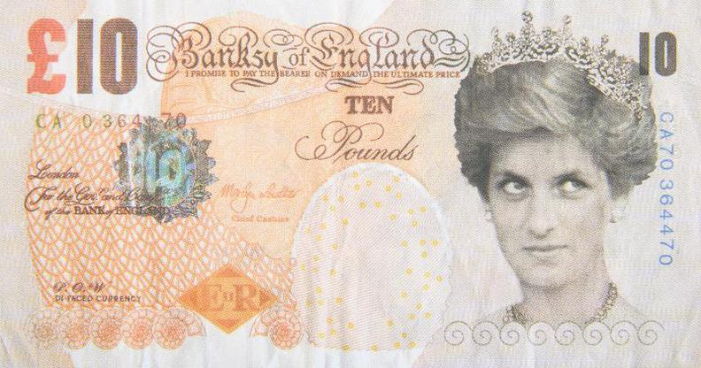 Banksy-Di-Faced Tenner-