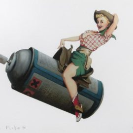 Banksy-Rodeo Girl-2008