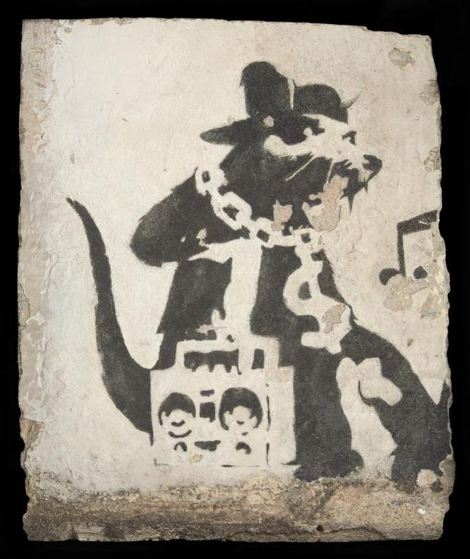 Banksy-Hayne Street Ghetto Rat-2004