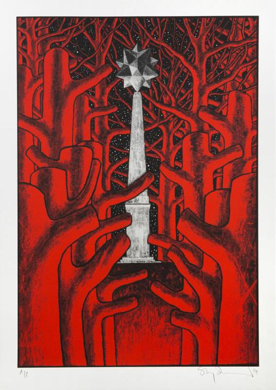 Stanley Donwood-Provocateurs-2014