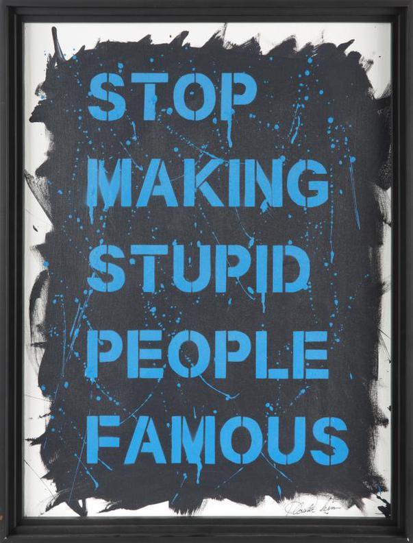 Plastic Jesus-Stop Making Stupid People Famous-2016