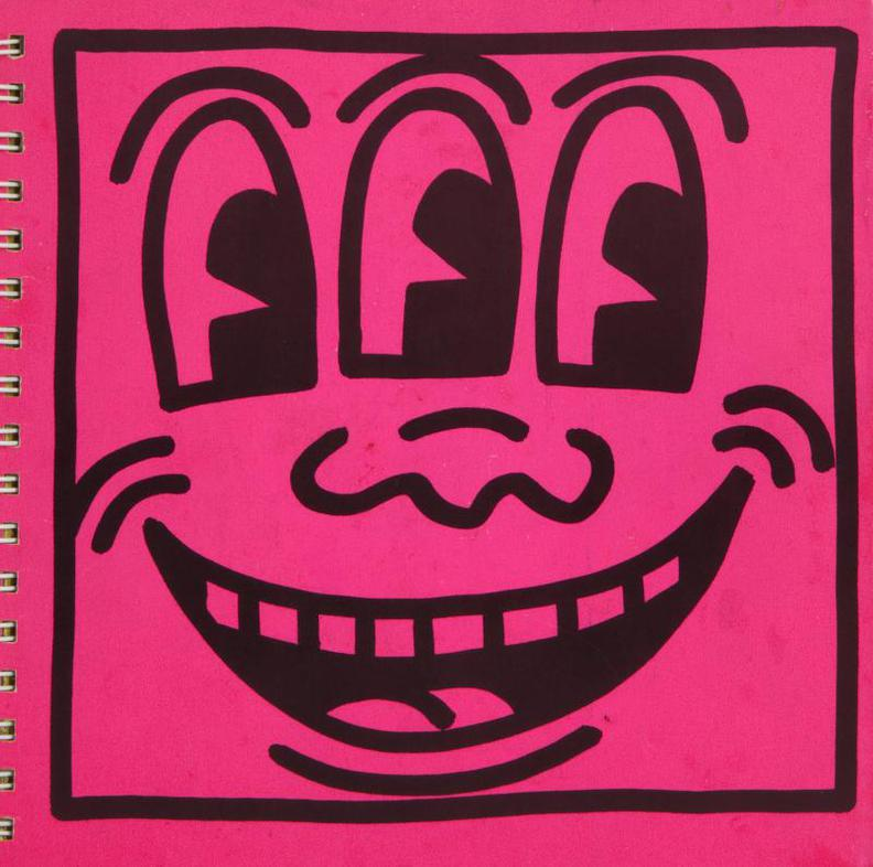 Keith Haring-Exhibition Catalog, Tony Shafrazi Gallery-1982