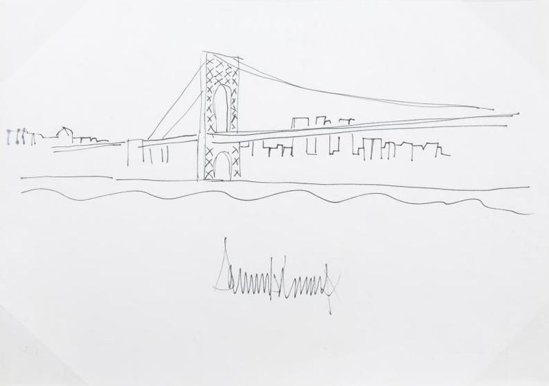 Donald Trump - George Washington Bridge-2006