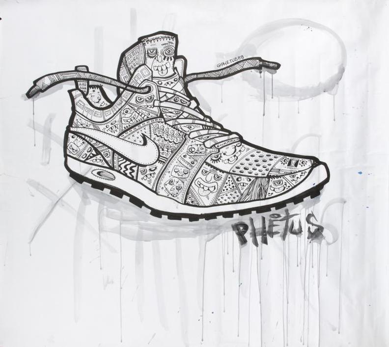 Phetus - Nike Shoe-