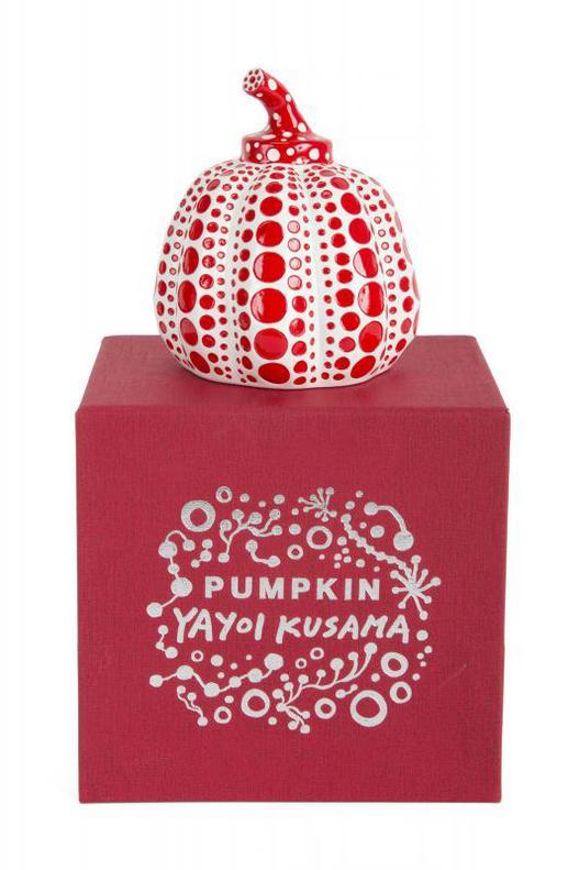 Yayoi Kusama-Pumpkin (Red)-