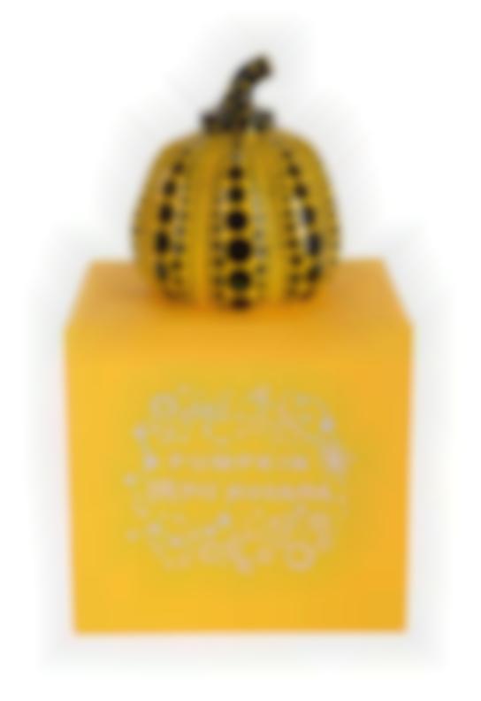 Yayoi Kusama-Pumpkin (Yellow)-