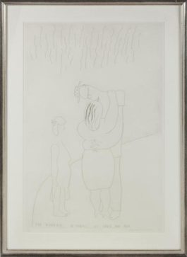 David Hockney-The Marriage In Hawaii Of David And Ann-1983