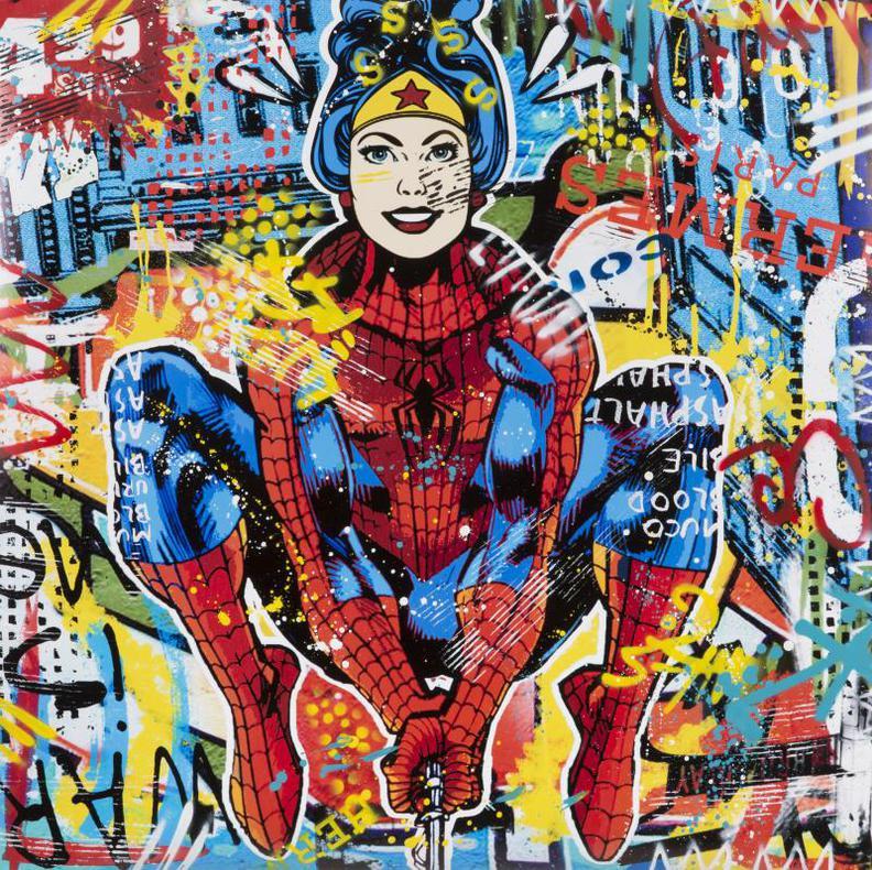 Aiiroh-Wonder Woman/Spiderman-2018
