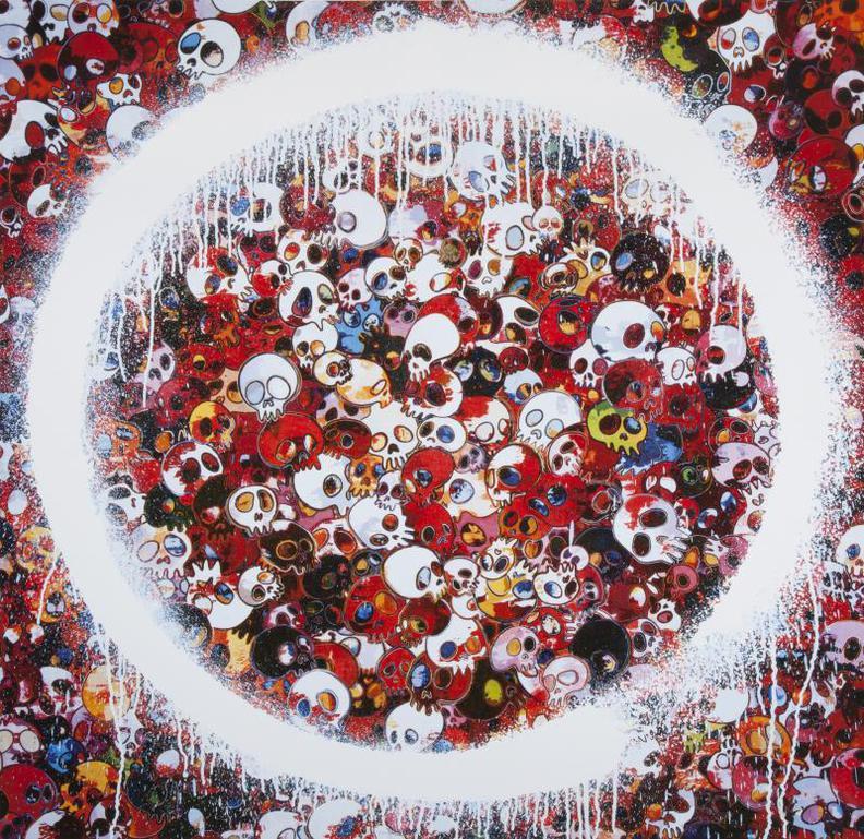 Takashi Murakami-Enso: Memento Mori Red-