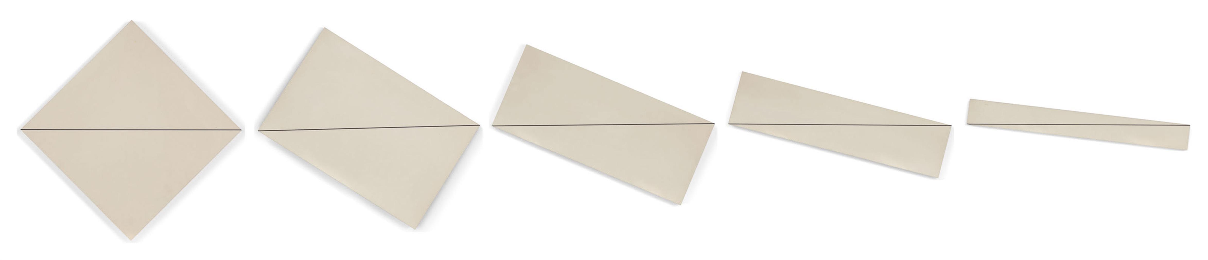 Francois Morellet-Diagonale-Horizontale (Diagonal-Horizontal)-1975