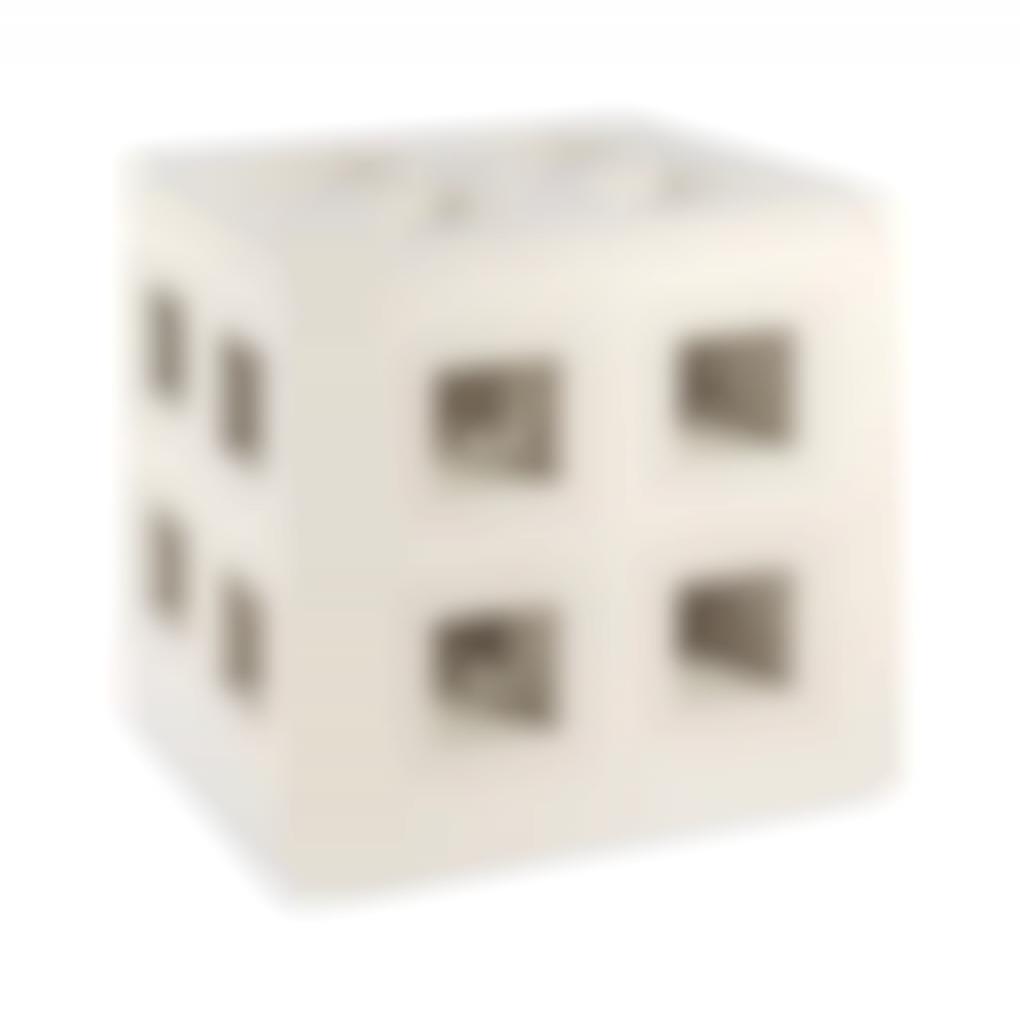 Ewerdt Hilgemann - Kubusstruktuur Nr. 107/K (Negatief) (Cube Structure No. 107/K (Negative))-1971