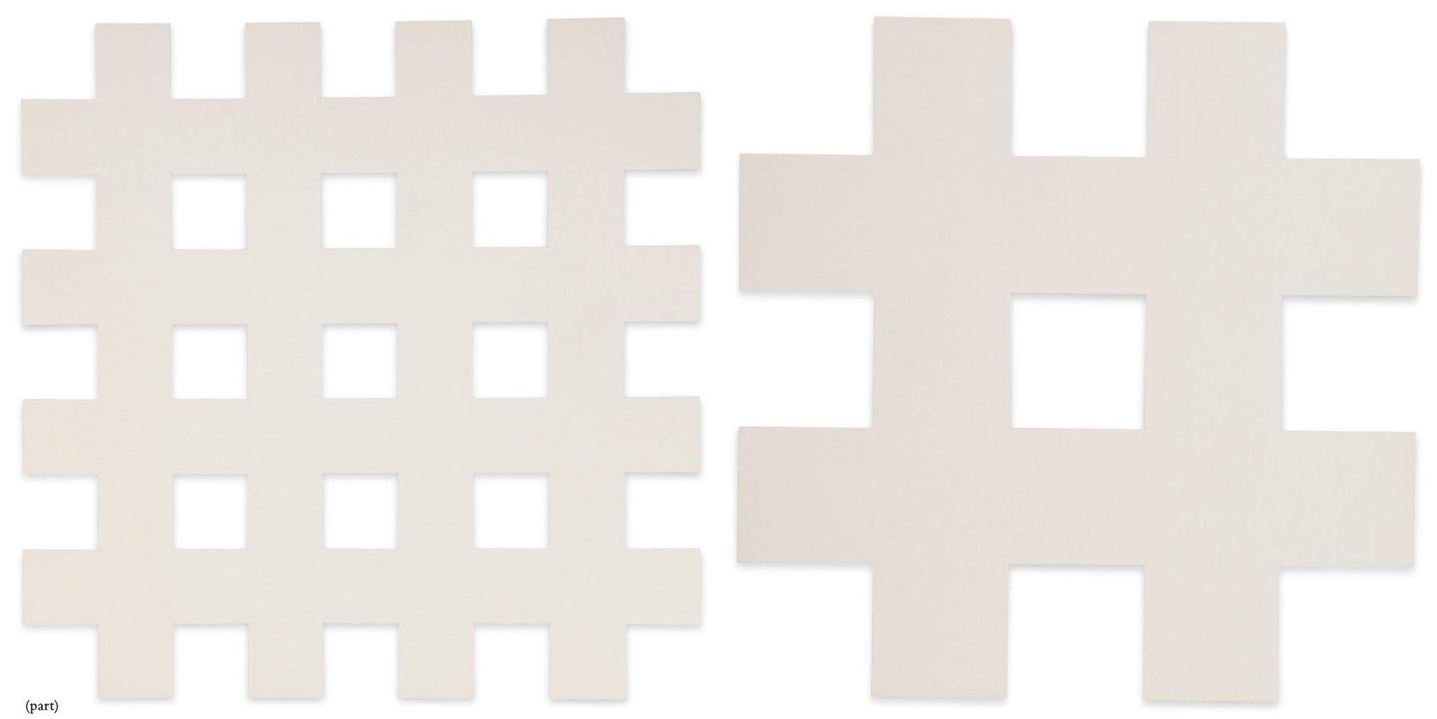 Ewerdt Hilgemann - 4 X 2 Reliefs-1971