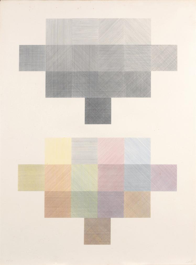 Sol LeWitt-Double Composite-1971