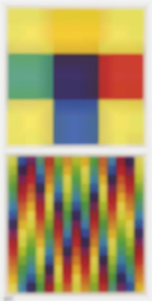 Richard Lohse - 3 Modulare Ordnungen - 3 Serielle Ordnungen (3 Modular Orders - 3 Serial Orders)-1976