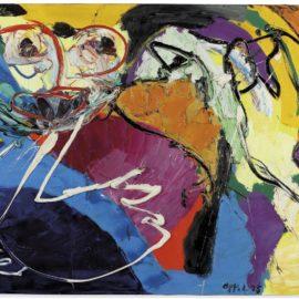 Karel Appel-Flying People-1975