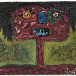 Enrico Baj-Personaggio (Figure)-1959