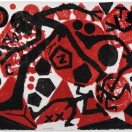 A.R. Penck-Der Schritt (The Step)