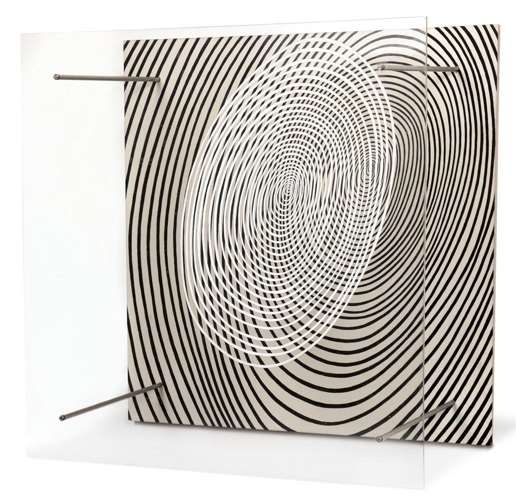 Jesus Rafael Soto-La Spirale (The Spiral)-1969