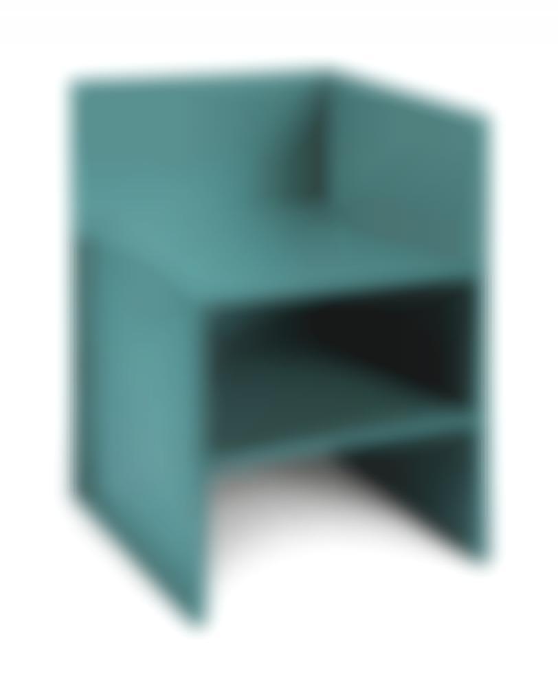 Donald Judd-Corner Chair No. 15-1989