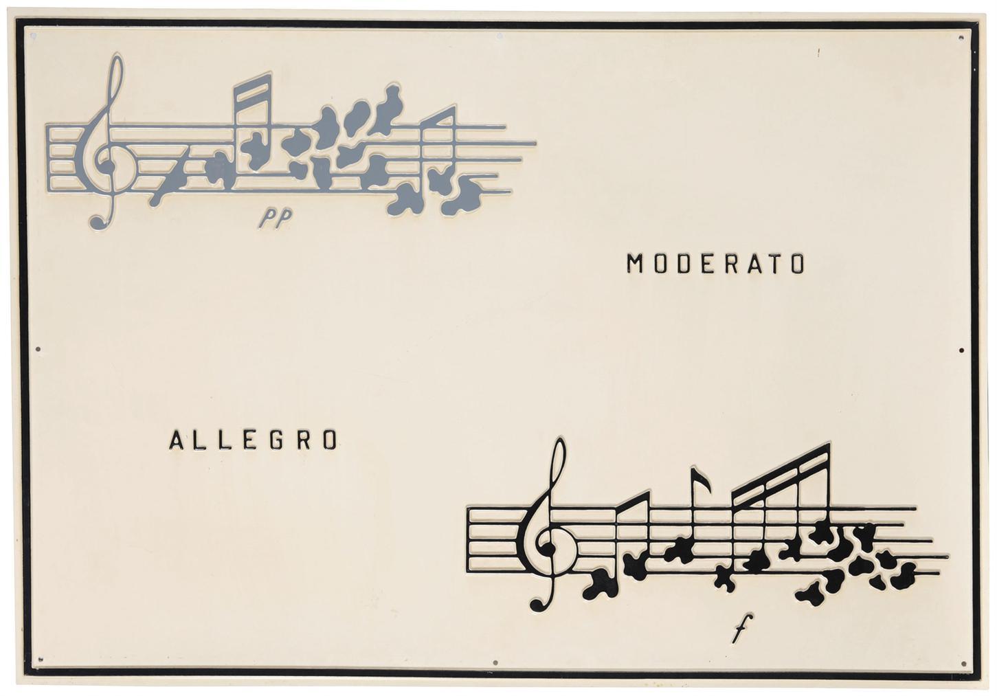 Marcel Broodthaers-Allegro Moderato-1969