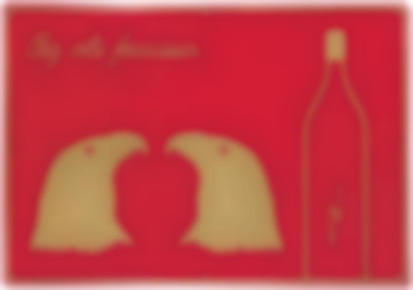Marcel Broodthaers-Chez Votre Fournisseur (Le Vinaigre Des Aigles)-1969