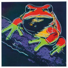 Andy Warhol-Pine Barrens Tree Frog (From Endangered Species Portfolio)-1983