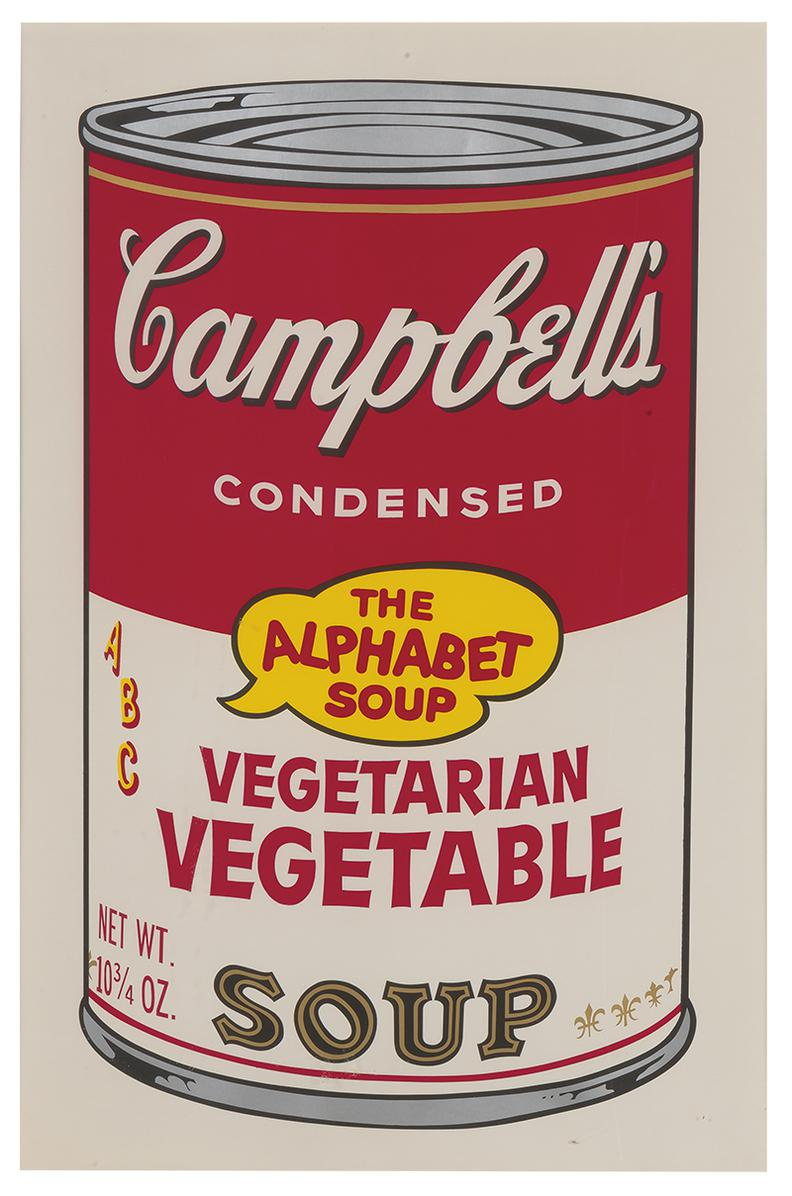 Andy Warhol-Vegetarian Vegetable (From Campbells Soup II)-1969