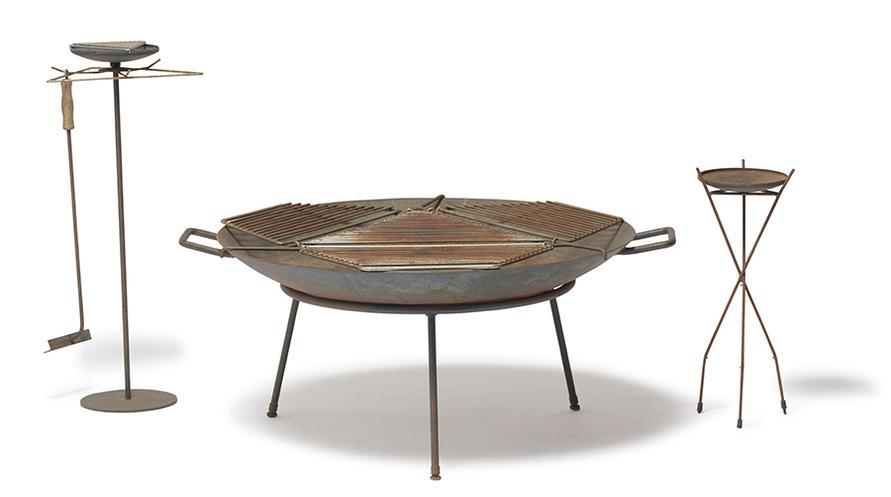 Stan Hawk - Fire Pit, Tool Holder, And Candle Stand (3)-1950
