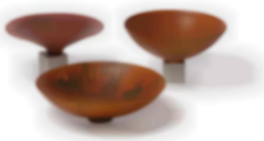 Ron Kent - Turned Wood Bowls (3)-