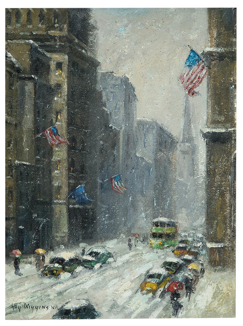 Guy Wiggins - Street Scene-