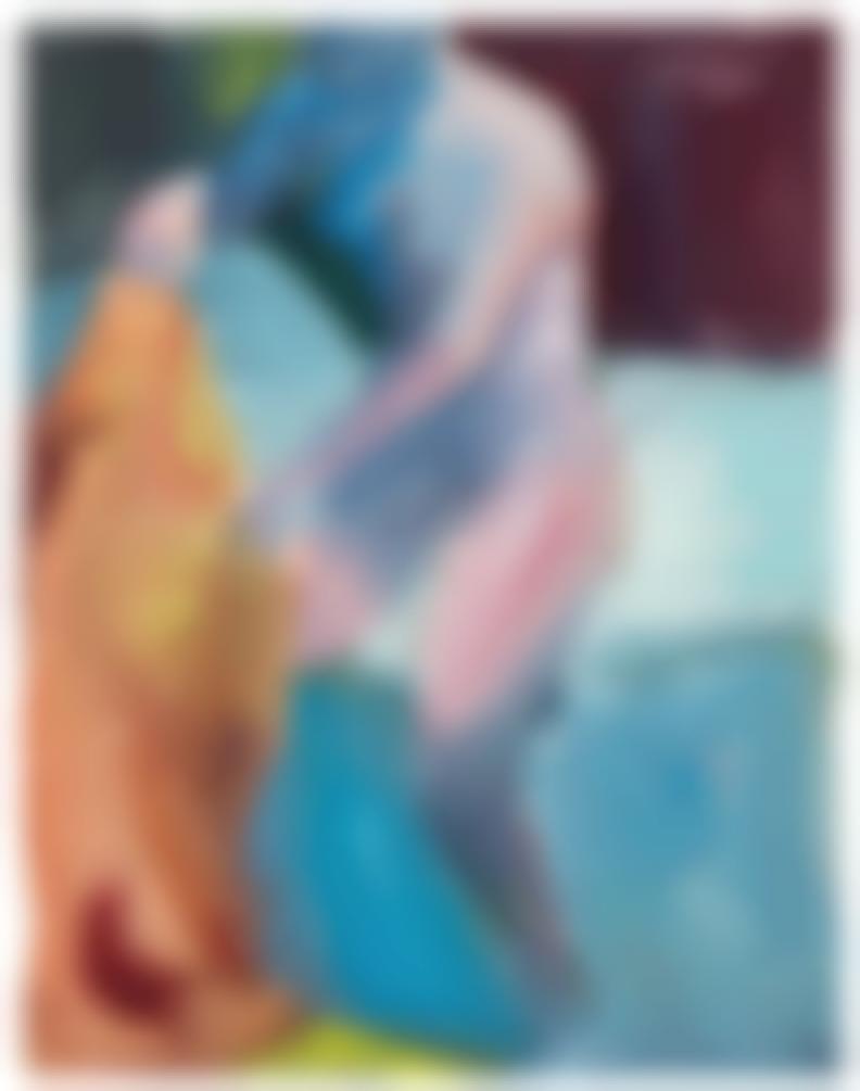 Paul Wonner-Untitled (Woman Dressing)-