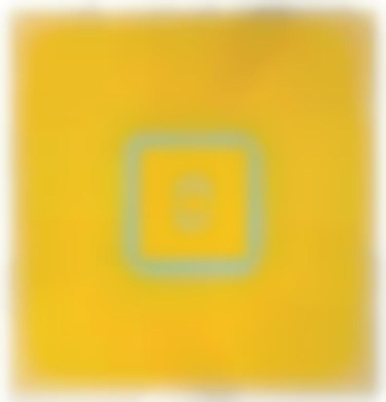 Billy Al Bengston-The Alamo - Yellow-1969