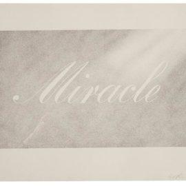 Ed Ruscha-Miracle-1999
