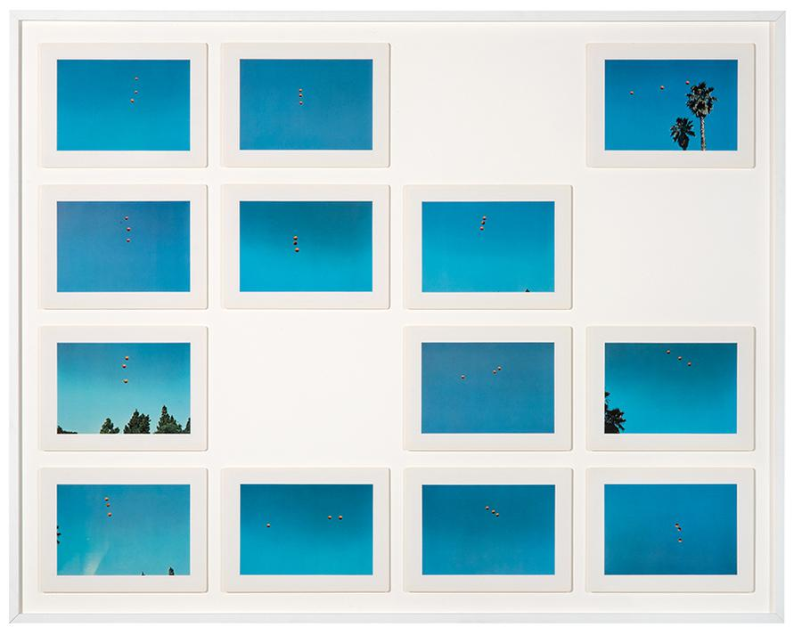 John Baldessari-Throwing Three Balls In The Air To Get A Straight Line (Best Of Thirty-Six Attempts)-1973