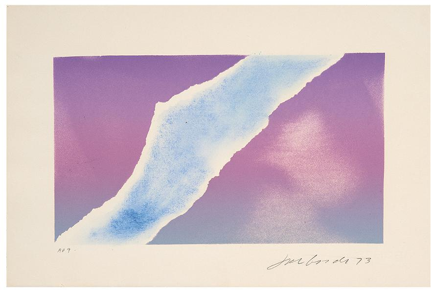 Joe Goode-Untitled (Torn Sky)-1973