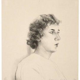 David Hockney-Small Head Of Gregory-1976