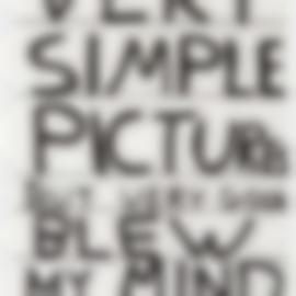 David Shrigley-Untitled (Very Simple...)-2013