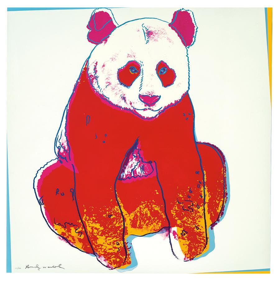 Andy Warhol-Giant Panda (From Endangered Species Portfolio)-1983