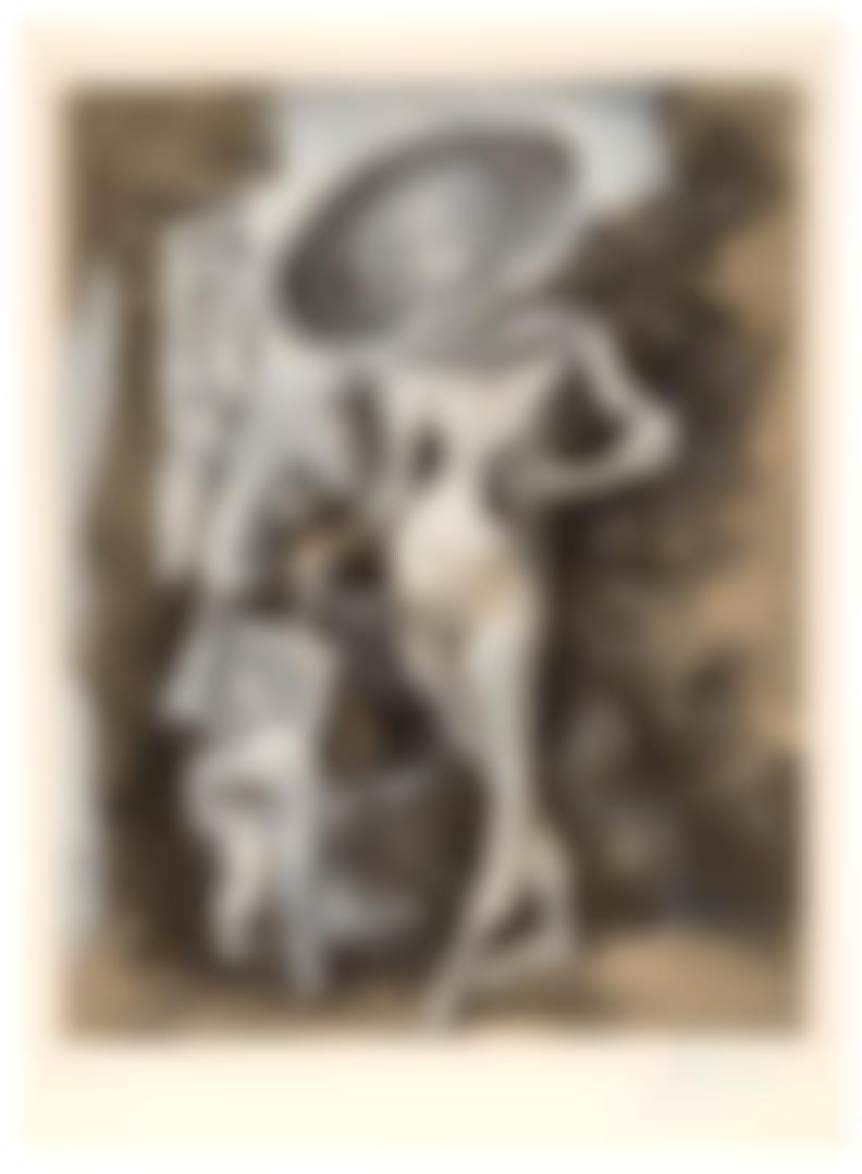 Pablo Picasso-After Pablo Picasso - Venus Et Lamour, Dapres Lucas Cranach Lancien-1960