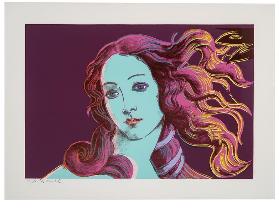 Andy Warhol-Details Of Renaissance Paintings (Sandro Boticelli, Birth Of Venus, 1482)-1984