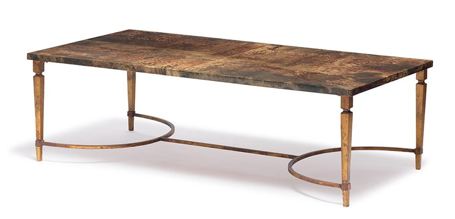 Aldo Tura - Parchment Covered Table-1950