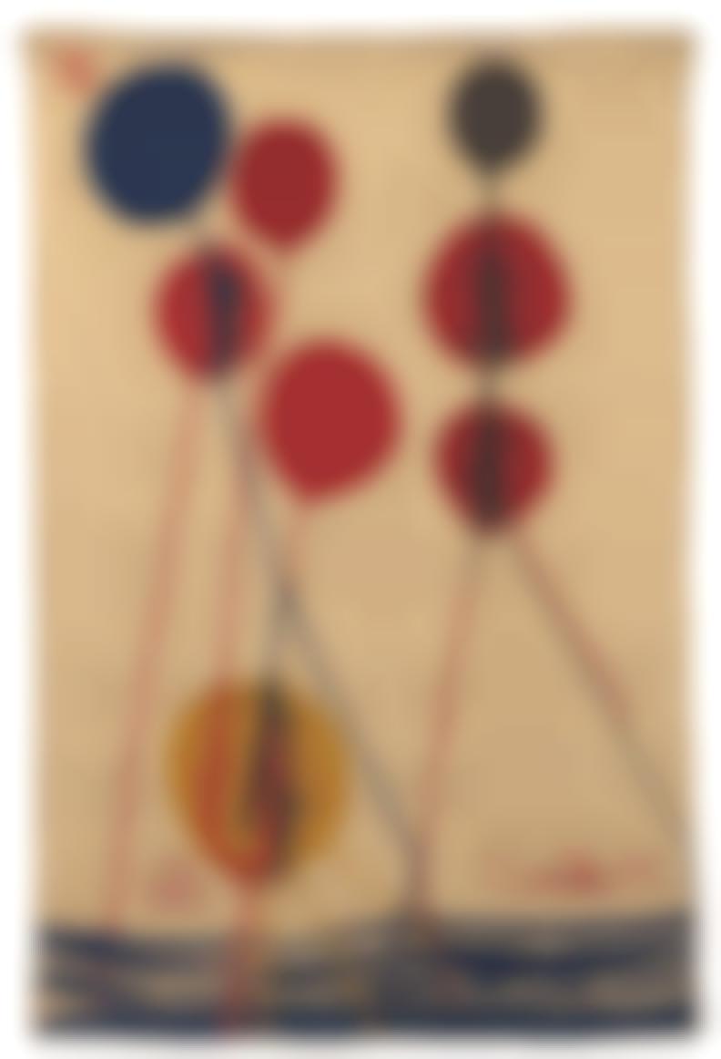 Alexander Calder-After Alexander Calder - Balloons-1975