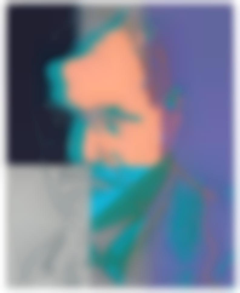 Andy Warhol-Sigmund Freud (From Ten Portraits Of Jews Of The Twentieth Century)-1980
