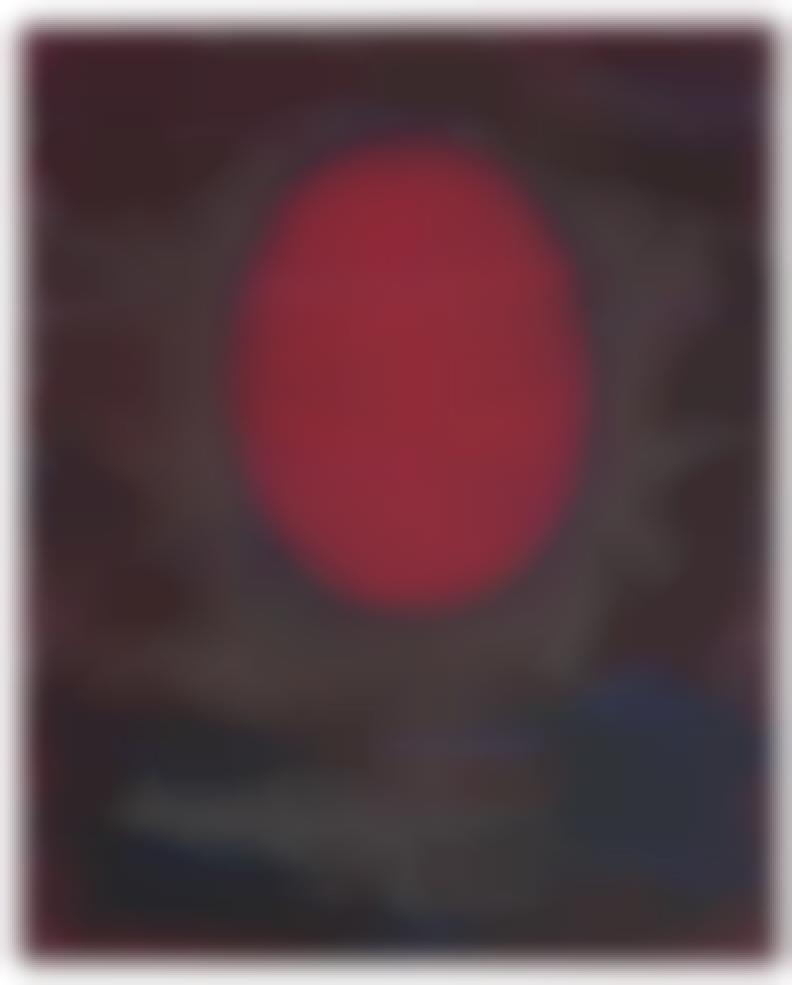 Oskar Fischinger-Red Oval-1950