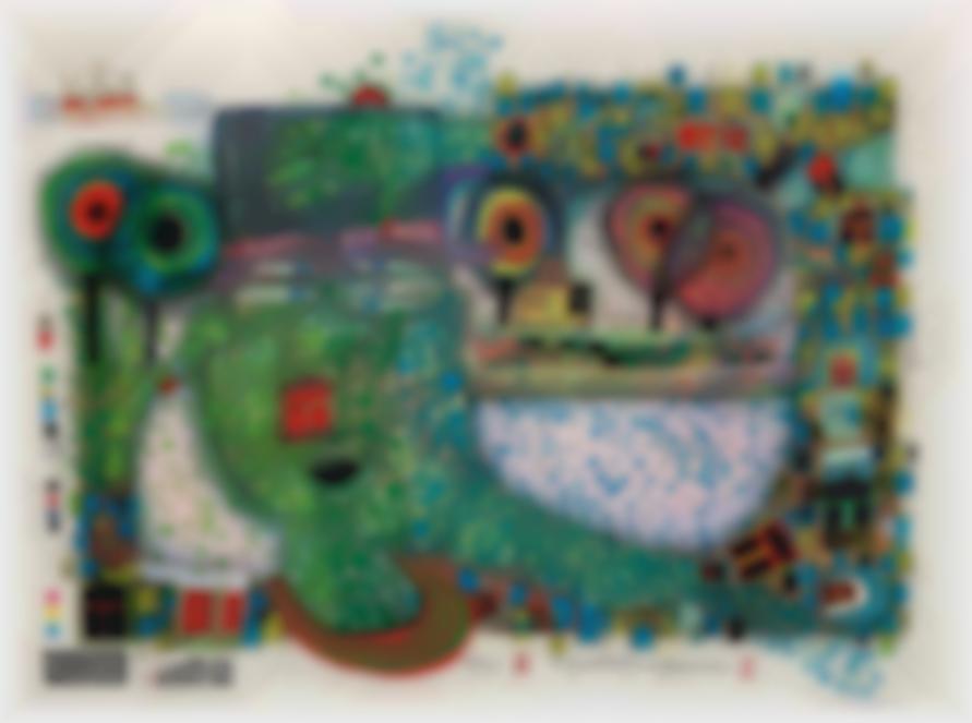 Friedensreich Hundertwasser-Regentropfenzahler (Rain Drop Counter)-1981